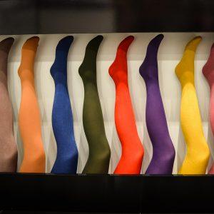 Strumpfhosen von der Farbe bis zur Wahl